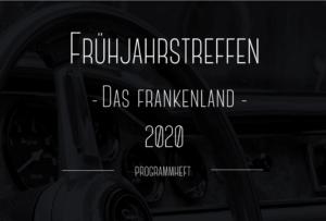 Programmheft Frühjahrstreffen 2020 - Das Frankenland